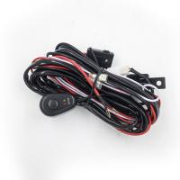 2.5 Meter Automotive LED light bar Wiring Harness with Connector Remote Controller Switch Control for car Manufactures