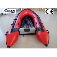 4 Person Aluminum Floor Inflatable Boat Inflatable Fishing Dinghy Manufactures