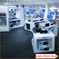 mobile phone accessories display showcase cellphone shop racks counter furniture Manufactures