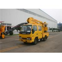 5 Person KaiFan Brand 16M Telescopic Boom Aerial Work Platform Truck 3 Section 96kw Manufactures