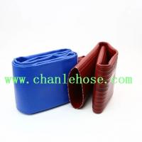 High pressure PVC layflat hose for drip irrigation hose pipe, pvc lay flat discharge hose Manufactures