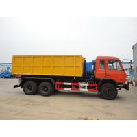 Dongfeng 153 6*4 16cbm hook lifter garbage truck, high quality and best price 16cbm swing arm garbage truck for export Manufactures