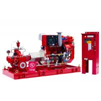 High Performance Split Case Fire Pump , Fire Fighting Water Pump 180kw Shaft Power Manufactures