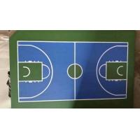Silicone PU Polyurethane Sports Flooring For Indoor Basketball Court Surface Manufactures