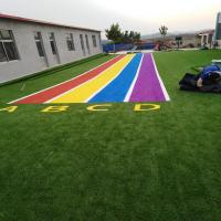 China Outdoor landscaping turf artificial grass lawn carpet for wall on sale