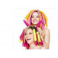 Colorful Curly Hair PET Expandable Braided Sleeving For Beautification Manufactures