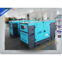 30Kva Silent 2mm Thick Canopy Diesel Generator Set Powered By Isuzu / Lovol Diesel Engine Manufactures