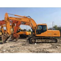 China Earthmoving Used Wheel Excavator Hyundai 200/210/219/220 1 Year Warranty on sale