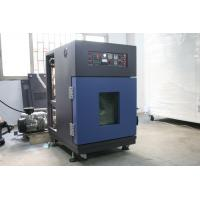 PID Controlling Laboratory Vacuum Drying Machine , Stainless Steel Vacuum Chamber Oven Manufactures