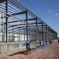 low cost prefab Steel structure warehouse building Manufactures