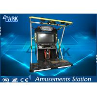Coin Operated Arcade Machines Video Dancing Game 2 Players For Shopping Mall Manufactures