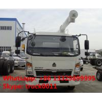 SINO TRUK HOWO 4*2 LHD/RHD8m3 animal feed truck for sale, howo brand  light duty feed delivery  truck for sale Manufactures