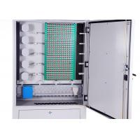 IP65 Cold Rolled Steel Fiber Optic Distribution Cabinet 288 Cores Distribution Connection Manufactures