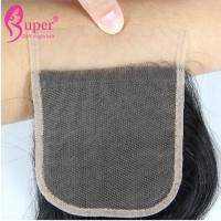 Transparent Swiss Lace Virgin Hair Closures Cuticle Aligned Raw Brazilian
