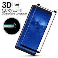 Samsung Note 8 Anti Smudge Privacy Glass Screen Protector 3D Curved Edge Manufactures