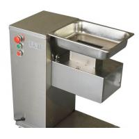 0.55KW Durable Meat Processing Equipment Stainless Steel Cutting Machine Safety Switches Manufactures