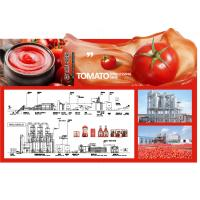 SS304 Small Scale Ketchup Tomato Paste Production Line Customized Size Easy Operation Manufactures