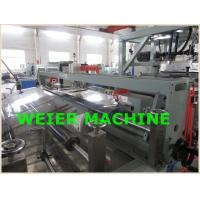 PET Plastic Sheet Extrusion Line , Parallel Twin Screw Extruder Machine Manufactures