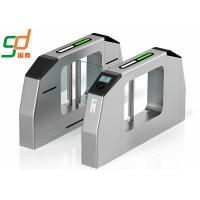 Quality Bidirectional Swing Barrier Gate RFID Reader Turnstile Subway Fare Gate for sale