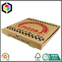 Custom Color Print 12 14 16 Inch Corrugated Cardboard Pizza Paper Box Manufactures