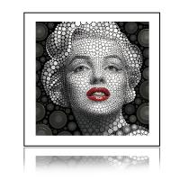 Modern art amazing 3D aluminum framed picture for home decoration Manufactures