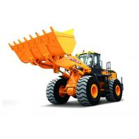 Front end shovel Wheel loaders , XCMG earth mover vehicles LW1100KN Manufactures