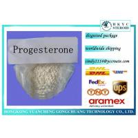 Pure Prohormone Supplements , Steroid Hormone Powder Progesterone CAS 57-83-0 Manufactures