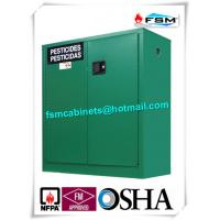 Safety Hazardous Storage Cabinets , Hazmat Storage Locker For Agriculture Pesticide Manufactures