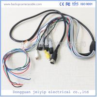 Waterproof Camera Monitor Cable , Rear View Camera Cable 20 Pin 1 Male To 4 Female Connector Manufactures