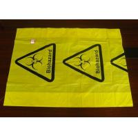 Polyethylene Plastic Heat  Sealing Biohazard Bags meet FDA and EU standard Manufactures