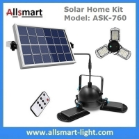 Buy cheap 15W Hanging Solar Light for Shed Garage Cabin Lamp Separated Solar Indoor Lights from wholesalers