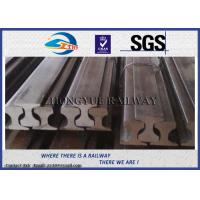 Customized Railroad Steel Crane Rail , American / BS / UIC860 / UIC50 Standard Manufactures