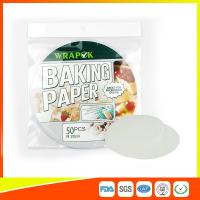 """Silicone 8 """" Kitchen Non Stick Baking Sheet / Parchment Paper For Cooking Manufactures"""