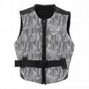 Reversible Design Neoprene Impact Vest With Front Zip Strategic Armhole Size