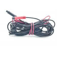 Slim Bare Copper PVC 4 Pin Mini Din Cable For Driving Recorder Manufactures