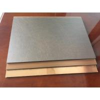 Quality Anti - Bacterial Copper Composite Panel Waterproof With High Peeling Strength for sale