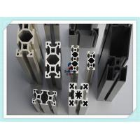 Buy cheap 6063 Black Anodised V - Slot Structural Aluminum Profiles 60 MM X 40 MM for Assembly Line Profile from wholesalers