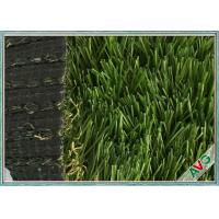PE Material Plastic Carpet For Decor , Portable Landscaping Artificial Turf Manufactures