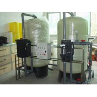 80 T/H Carbon Steel Boiler Feed Water Treatment System with CNP / Grundfos Pump Manufactures