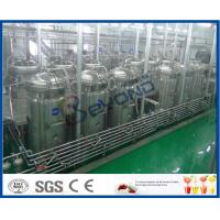 Soft Beverage Industry Cool Drinks Making Machine 5000 - 6000BPH ISO9001 / CE / SGS Manufactures