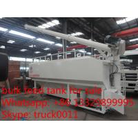 Buy cheap 20m3 electronic system discharging farm pig feed pellet container for sale, hot sale electronic animal feed tank from wholesalers