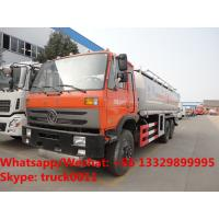 Buy cheap dongfeng 6*4 LHD 210hp diesel 23000L dongfeng double rear axles oil truck for sale, wholesale price Fuel tank truck from wholesalers