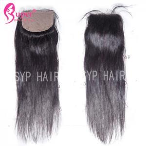 Soft Smooth Virgin Hair Closures Silk Base Frontal Closure 100% Human Hair