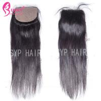 Soft Smooth Virgin Hair Closures Silk Base Frontal Closure 100% Human Hair Manufactures