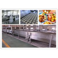 CE ISO SGS Instant Noodle Making Machine , Automatic Noodle Machine Stainless Steel Manufactures