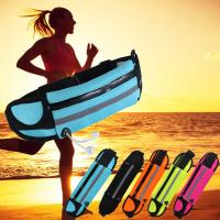 Bright Color Tactical Bike Waist Bag For Phone , Waterproof Fanny Pack For Running Manufactures