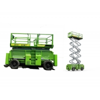 Buy cheap Self Propelled 700kg 18m Scissor Mobile Lift Platform Outdoor Construction Rough from wholesalers
