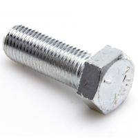 Din933 Full Threadhex head machine bolt , high tensile stainless steel bolts  Manufactures