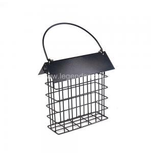 Outdoors Cast Iron Bird Feeder , Eco Friendly Metal Hanging Bird Feeder Manufactures
