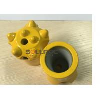 Tapered Equipment Tapered Button Bits For Integral Tapered Rod Manufactures